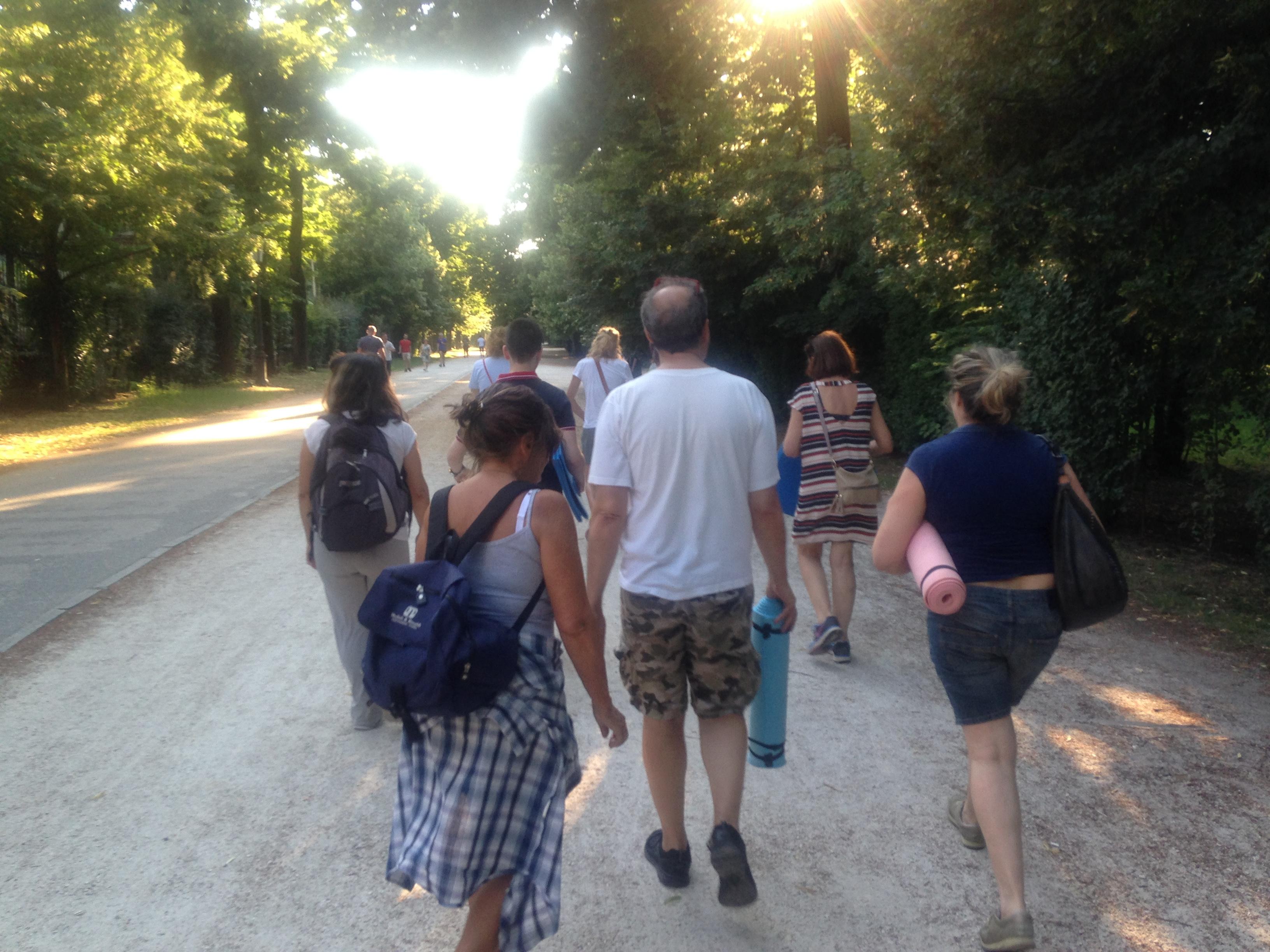 Smart Walking al Parco Ducale